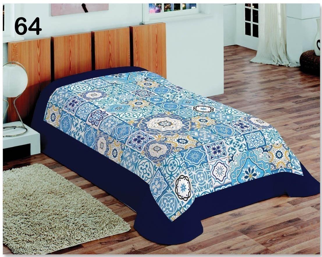 a8f5d9ebe38f7d Koce na łóżka 3D | Granatowa obwódka i witraż koce i narzuty w ...