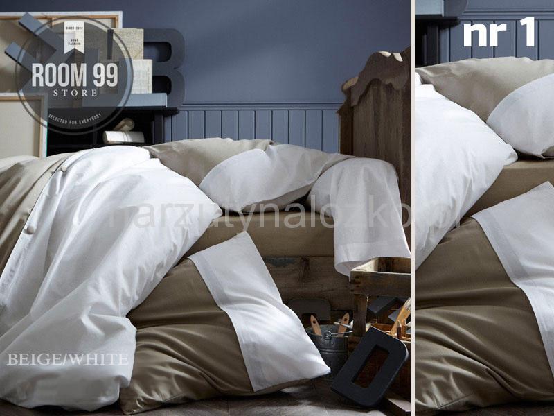 Biało Beżowa Pościel Na łóżko Do Sypialni