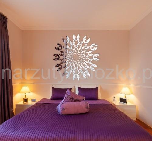 Okrągłe I Owalne Lustra Dekoracyjne Akrylowe Lustro Do Sypialni