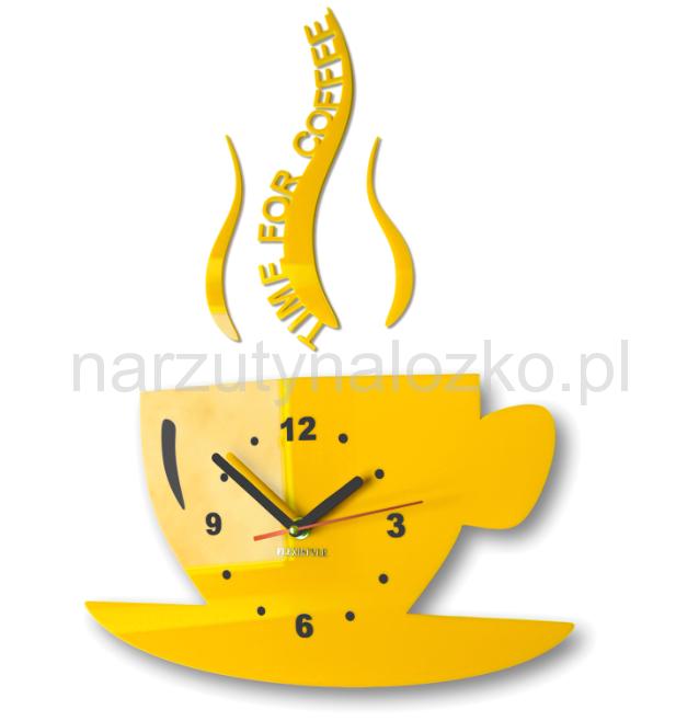 Nowoczesny Zegar Do Kuchni W Kształcie Filiżanki
