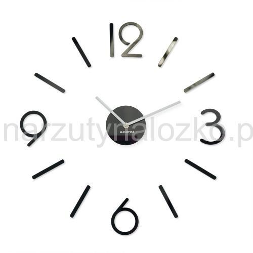 75x75 Klasyczny Czarny Zegar Do Kuchni