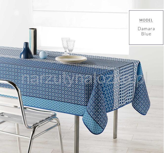 Kuchenny Niebieski Obrus Na Stol 150x200