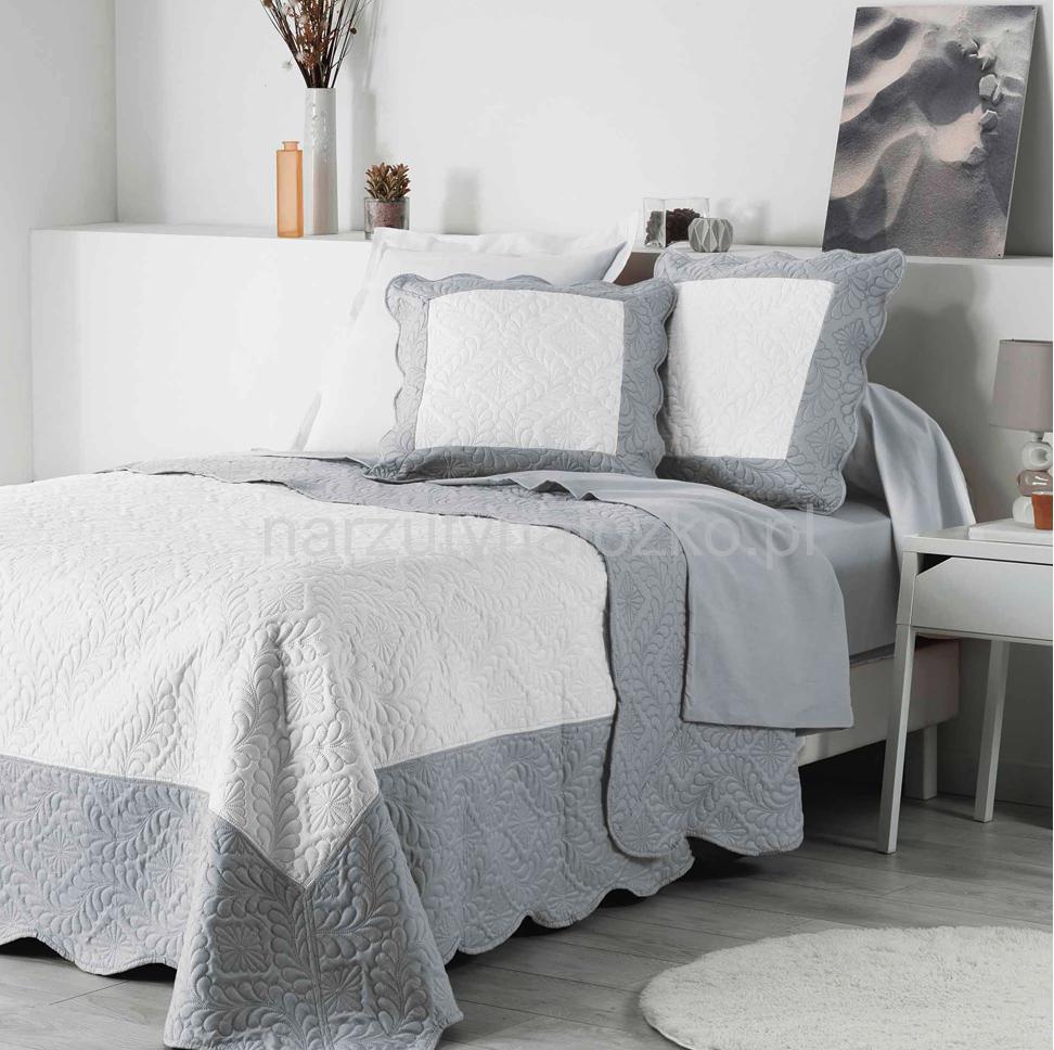 Nowoczesne Tłoczone Narzuty Na łóżko W Kolorze Szarym 220x240 Do Sypialni