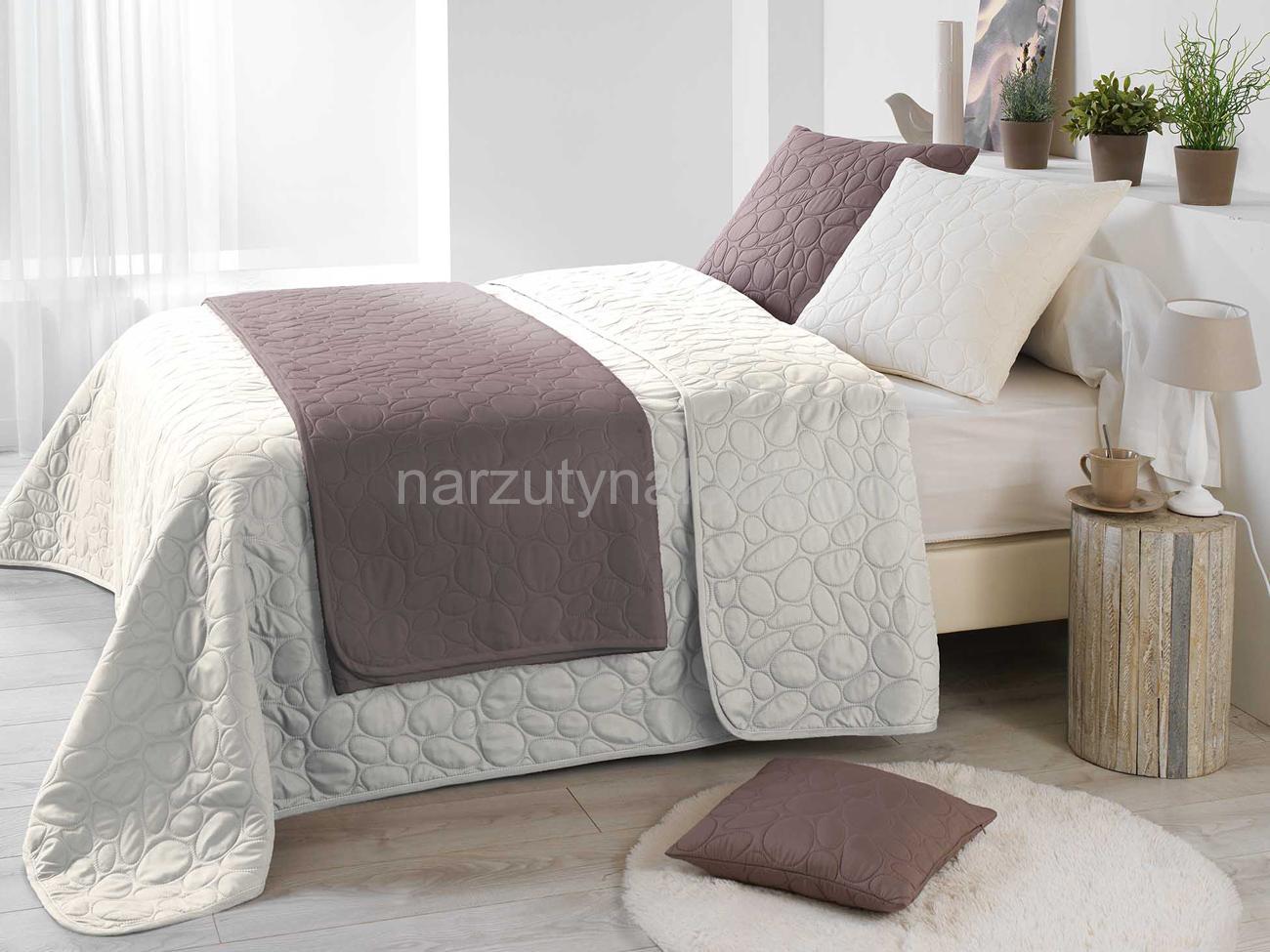 Kremowa Narzuta Na łóżko Do Sypialni W Stylu Vintage 220x240