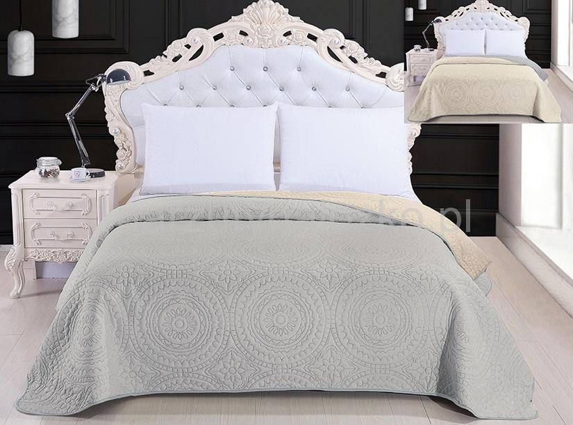 Elegancka Ozdobna Narzuta Na łóżko 220x240 We Wzory Do Sypialni
