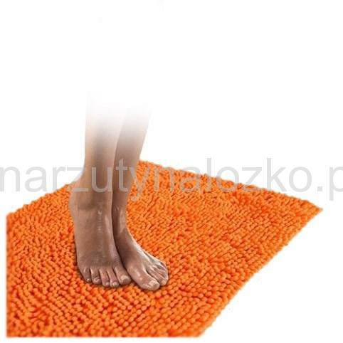 Dekoracyjne Miękkie Dywaniki Do łazienki W Kolorze Pomarańczowym 50x70