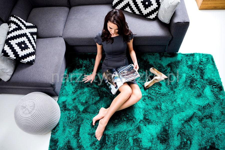 120x170 Ozdobne Dywany Pluszowe Koloru Morskiego Do Sypialni