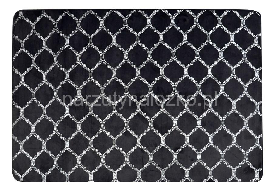 ffc4a2d89e2f Antypoślizgowe dekoracyjne ciemno szare dywany pluszowe do przedpokoju  140x200