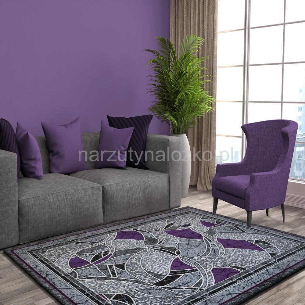 Tanie Dywany Pluszowe W Fioletowym Kolorze