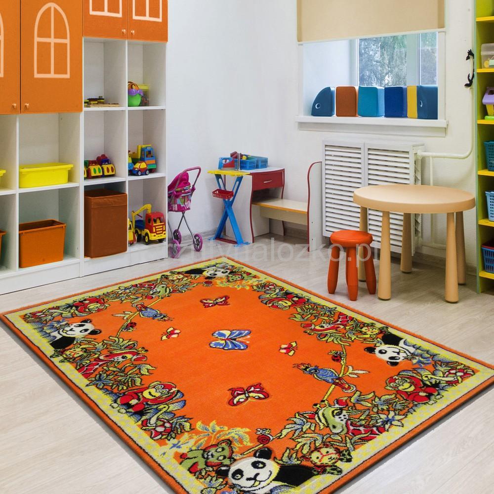 Pomarańczowe Dywany Dziecięce W Nowoczesne Wzory